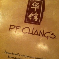 Photo taken at P.F. Chang's by Monica B. on 2/2/2013