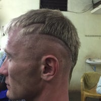 Photo taken at BOMBAY HAIR CUTTING SALOON by Alexander 😎 F. on 2/24/2015