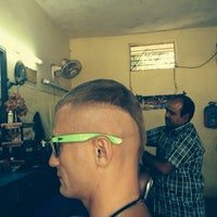 Photo taken at BOMBAY HAIR CUTTING SALOON by Alexander 😎 F. on 2/18/2014