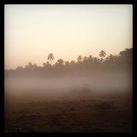Photo taken at Anjuna Beach by Lex T. on 1/29/2013