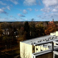 Photo taken at SPA Vilnius Druskininkai by Lukas S. on 10/26/2012