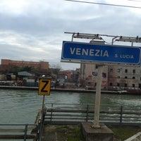 Photo taken at Venezia Santa Lucia Railway Station (XVQ) by Dimka on 4/9/2013