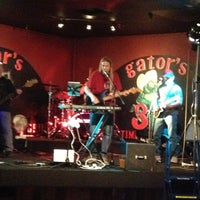 Photo taken at Gators Bar & Grill 3 by Shelly on 2/23/2013