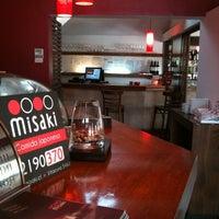 Photo taken at Misaki by Diego on 10/10/2012