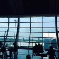 Photo taken at Terminal 1B by Sahil on 4/21/2016