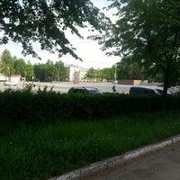 Photo taken at Площадь им. В.И. Ленина by Sima B. on 5/30/2013