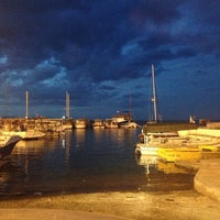 Photo taken at Port of Famagusta by Cema K. on 4/9/2013