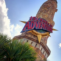 Photo taken at Universal's Islands of Adventure by MAX K. on 2/23/2013