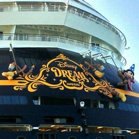 Photo taken at Disney Dream by MAX K. on 2/28/2013