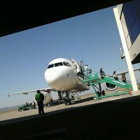 Photo taken at Aeropuerto Internacional de Salta - Martín Miguel de Güemes (SLA) by Alejandro K. on 5/25/2013