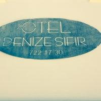 Photo taken at otel denize sifir by ONUR on 5/18/2014