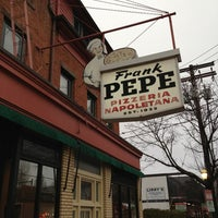 Photo taken at Frank Pepe Pizzeria Napoletana by Andy F. on 2/27/2013