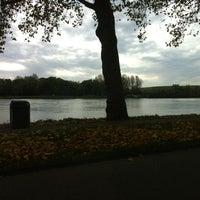 """Photo taken at """"De Singel"""" (Rivier De Merwede) by John on 10/26/2012"""
