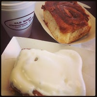 Photo taken at Old West Cinnamon Rolls by Sonja on 3/22/2013