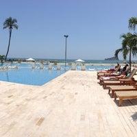 Photo taken at Tamacá Beach Resort Hotel by JC T. on 7/12/2013