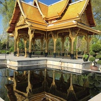 ... Photo Taken At Thai Pavilion At Olbrich Botanical Gardens By Antonio S.  On 5/ ...