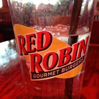 Photo taken at Red Robin Gourmet Burgers and Brews by Saunder S. on 6/9/2013