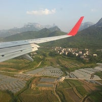 Photo taken at Zhangjiajie Hehua Airport (DYG) by Steve Z. on 6/4/2013