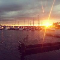 Photo taken at Hamilton Harbour by Moy💕 on 7/18/2013