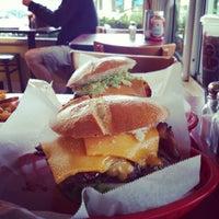 Photo taken at Phyllis' Giant Burgers - San Rafael by Steener M. on 12/11/2012