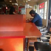 Photo taken at Phyllis' Giant Burgers - San Rafael by Steener M. on 11/27/2012