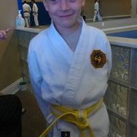 Photo taken at Butoku Karate Dojo by Mary Ann A. on 9/15/2012