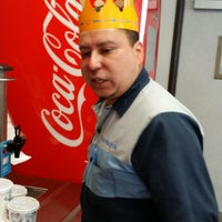 Photo taken at Burger King by Hao L. on 5/12/2014