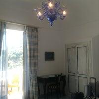 Photo taken at Palazzo Marzoli Resort Positano by Eser on 6/17/2013