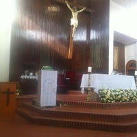 Photo taken at Parroquia San José Apóstol by Ignacio R. on 7/7/2013