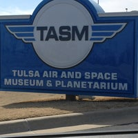 Photo taken at Tulsa Air and Space Museum & Planetarium by Angela S. on 3/3/2013