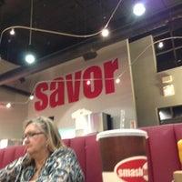 Photo taken at Smashburger by Kaz on 10/18/2012