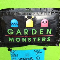 Photo taken at Garden Monsters by Tim T. on 4/29/2013