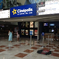 Photo taken at Cinépolis by George on 10/7/2012