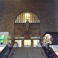 Photo taken at Stuttgart Hauptbahnhof by Kevin R. on 10/28/2012