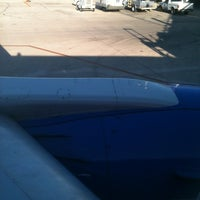 Photo taken at Awaiting Takeoff by Patricia on 11/27/2012