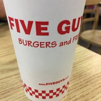 Photo taken at Five Guys by Bianca W. on 10/7/2016