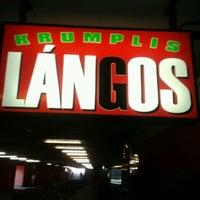 Photo taken at Lángosos (Krumplis Lángos) by Barna H. on 4/19/2013