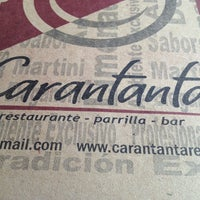 Foto tomada en Carantanta Restaurante por Mónica G. el 3/2/2013