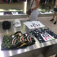 Photo taken at Bape Store by Sylvie on 6/29/2017