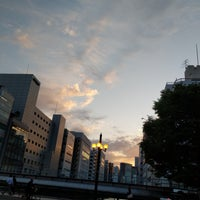 Photo taken at 美倉橋 by こんぶ on 4/27/2018
