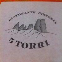 Photo taken at Ristorante Pizzeria 5 Torri by Chiara on 3/13/2016