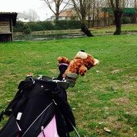 Photo taken at Cento Golf Club by Chiara on 2/15/2014