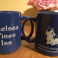 Photo taken at Chelsea Pines Inn by Mikey P. on 10/17/2014