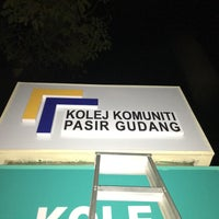 Photo taken at Kolej Komuniti Pasir Gudang by merool r. on 7/23/2016