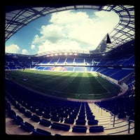 Photo taken at Red Bull Arena by Asier on 7/8/2013