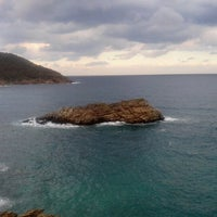 Photo taken at Limnionas Beach by Antonis G. on 11/10/2012
