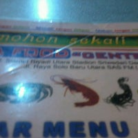 Photo taken at Seafood Central Rasa by Nunna A. on 5/4/2013
