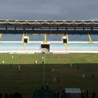 Photo taken at Estadio Monumental de Maturín by Simon F. on 2/17/2013