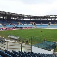 Photo taken at Estadio Monumental de Maturín by Simon F. on 1/27/2013