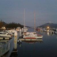 Photo taken at Marina Island Jetty Complex by Saufi Z. on 9/1/2013